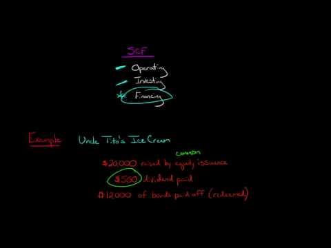 Cash Flow from Financing Activities (Statement of Cash Flows)