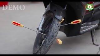 Vỏ xe không ruột - Lốp xe không ruột không hơi chống đinh tặc cho xe máy