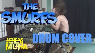 Smurfs Theme Song Drumming - JOEY MUHA