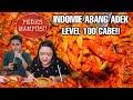 EXTREME CHALLENGE!! INDOMIE ABANG ADEK PEDES MAMPUS LEVEL 100 CABE 🔥 ft. Jajan Beken