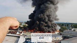 Europa Park : les images et infos de l'incendie qui a frappé le parc