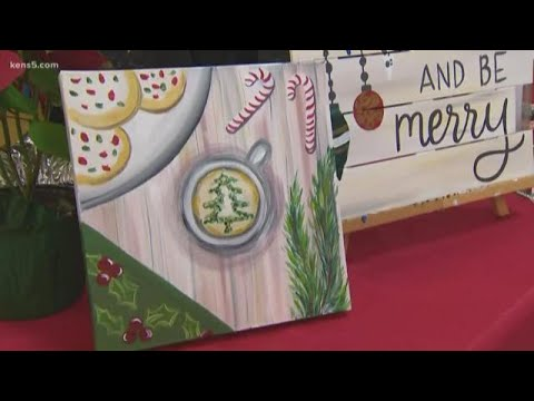 Painting With A Twist A Good Spot For Creative Christmas Gifts Youtube