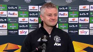 Ole Gunnar Solskjaer Reacts To Manchester United's Win Over AC Milan