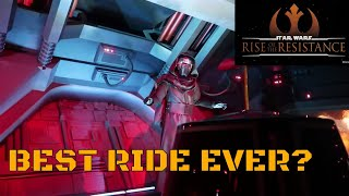 Opening Day Madness of Rise of the Resistance at Hollywood Studios | FULL POV | AMAZING RIDE