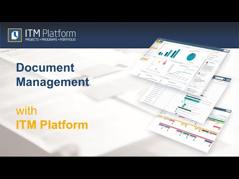 Document Management with ITM Platform