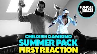 CHILDISH GAMBINO - SUMMER PACK REACTION/REVIEW (Jungle Beats)