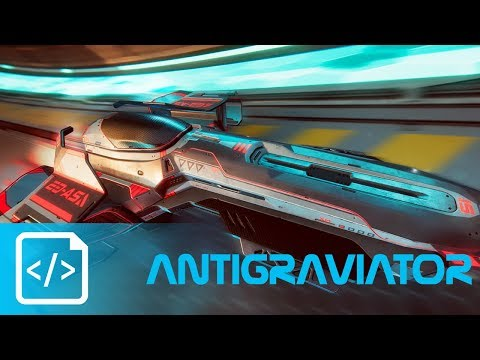 Antigraviator - A Wipeout Rebirth (Demo Gameplay/First Look)  