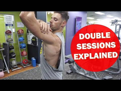 DOUBLE SESSIONS Why/How to structure | Back/Delts day