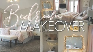 BEDROOM MAKEOVER || DECORATE WITH ME || Teen Girl's Room