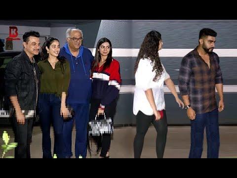 Kapoor's Family: Arjun, Jhanvi, Khushi, Bonney, Anshula Arrives At Sanjay Kapoor's House
