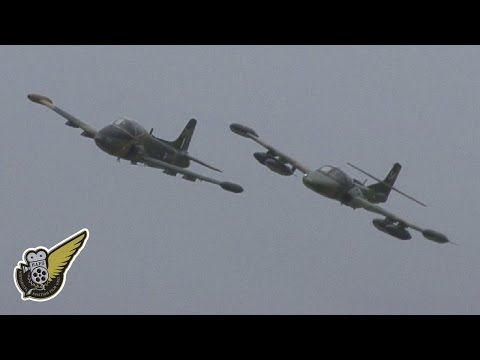 Two Old Jets - Strikemaster and A-37 Tweety Bird