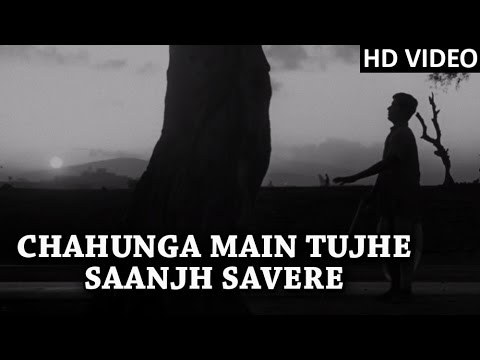 Chahunga Main Tujhe Full Video Song | Mohammad Rafi Hit Songs | Dosti Movie Songs 1964