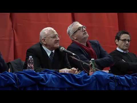 De Luca: 'Una riflessione su Bettino Craxi' (11.02.20)