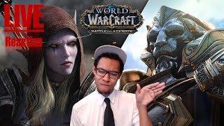 [Vezaks: реакция] Вступительный ролик World of Warcraft - Battle for Azeroth (+НОВОСТИ!)