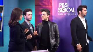 Il Volo interview PBS SoCal 1 - Dec 5, 2016