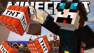 Minecraft | THE INDESTRUCTIBLE MAN!! | Bomb Lobbers Minigame