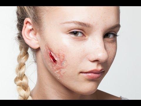 Tutorial : How to make 3d gel ( fake flesh - fake cut )