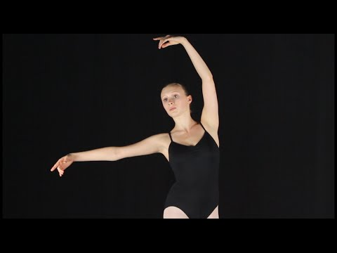 Maine State Ballet: How to do Tendu Croisé Devant