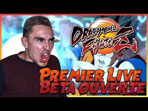 PREMIER LIVE SUR LA BETA OUVERTE DE DRAGON BALL FIGHTER Z !
