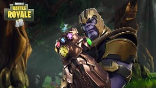 Thanos Taking Over Fortnite Infinity Gauntlet Mode Playing As Thanos On Fortnite Marvel Infinity War