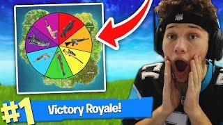 Spin the WHEEL to WIN in FORTNITE BATTLE ROYALE!