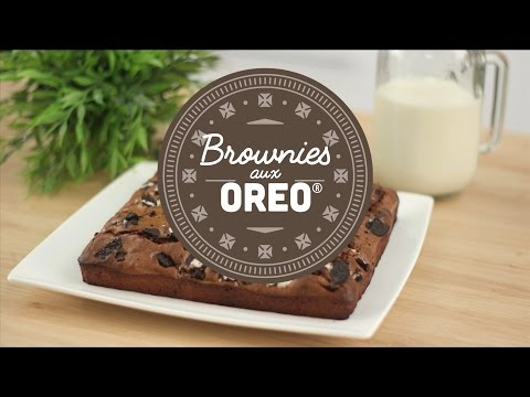 Brownies aux biscuits Oreo® - CuisineAZ