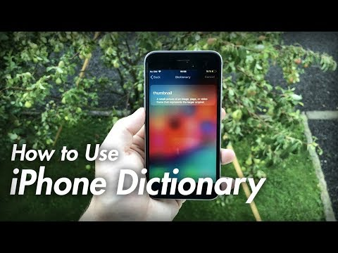 How To Use IPhone Dictionary - Best IPhone Dictionary