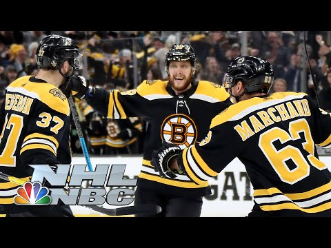 T-Bone - Bruins-Hurricanes Game 1 Highlights!