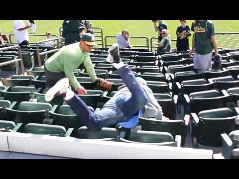 FACE-PLANTING at the Oakland Coliseum