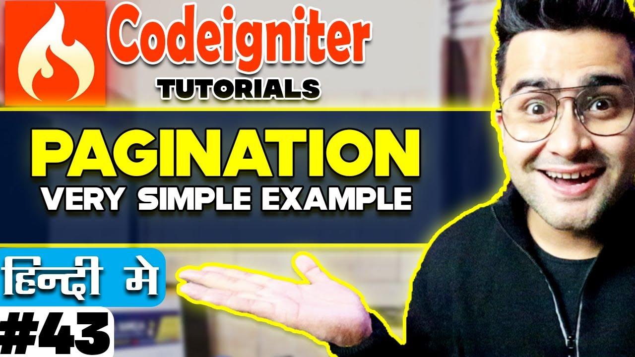 codeigniter rest api pagination