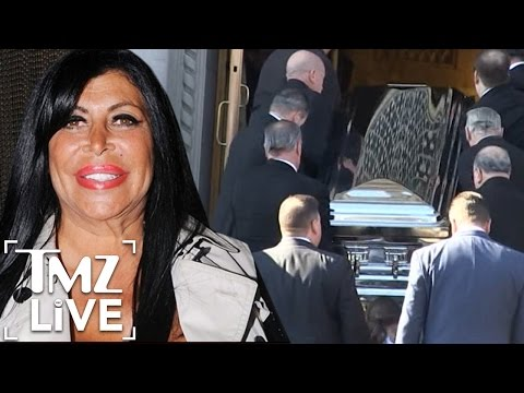 Big Ang's Funeral - Tons in Attendance, Including Husband | TMZ Live