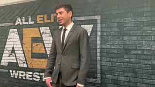 Tony Khan AEW Full Gear Post Show Media Scrum: Backstage Fight, Dynamite Ratings, More