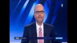 Walscheid sur France 3 Lorraine lors du reportage sur Rando Moselle