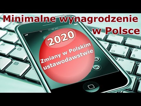 2020.Минимальная зарплата в Польше/Minimalne Wynagrodzenie W 2020 Roku