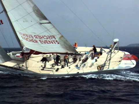 """Segeln mit der 80 ft. Rennyacht """"Hispania"""""""