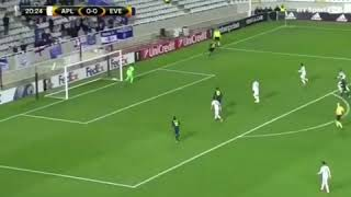 Everton Vs Apollon Limassol away Ademola Lookman Brace of 2 goals