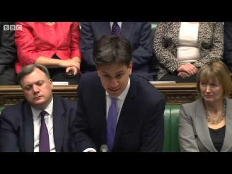 PMQs: Cameron and Miliband on Crimean Russia referendum