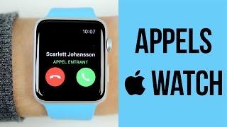 Apple Watch : Recevoir ses appels téléphoniques
