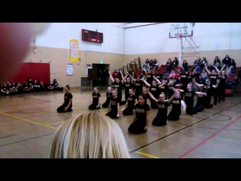 Northdale middle school dance team