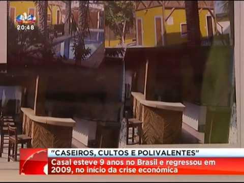 Portugueses Classe Média Caseiros  SIC Jornal das 20:00