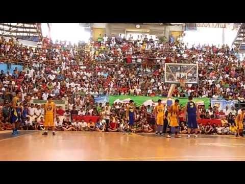 Last 2 minutes Palaro Basketball Central Visayas vs NCR