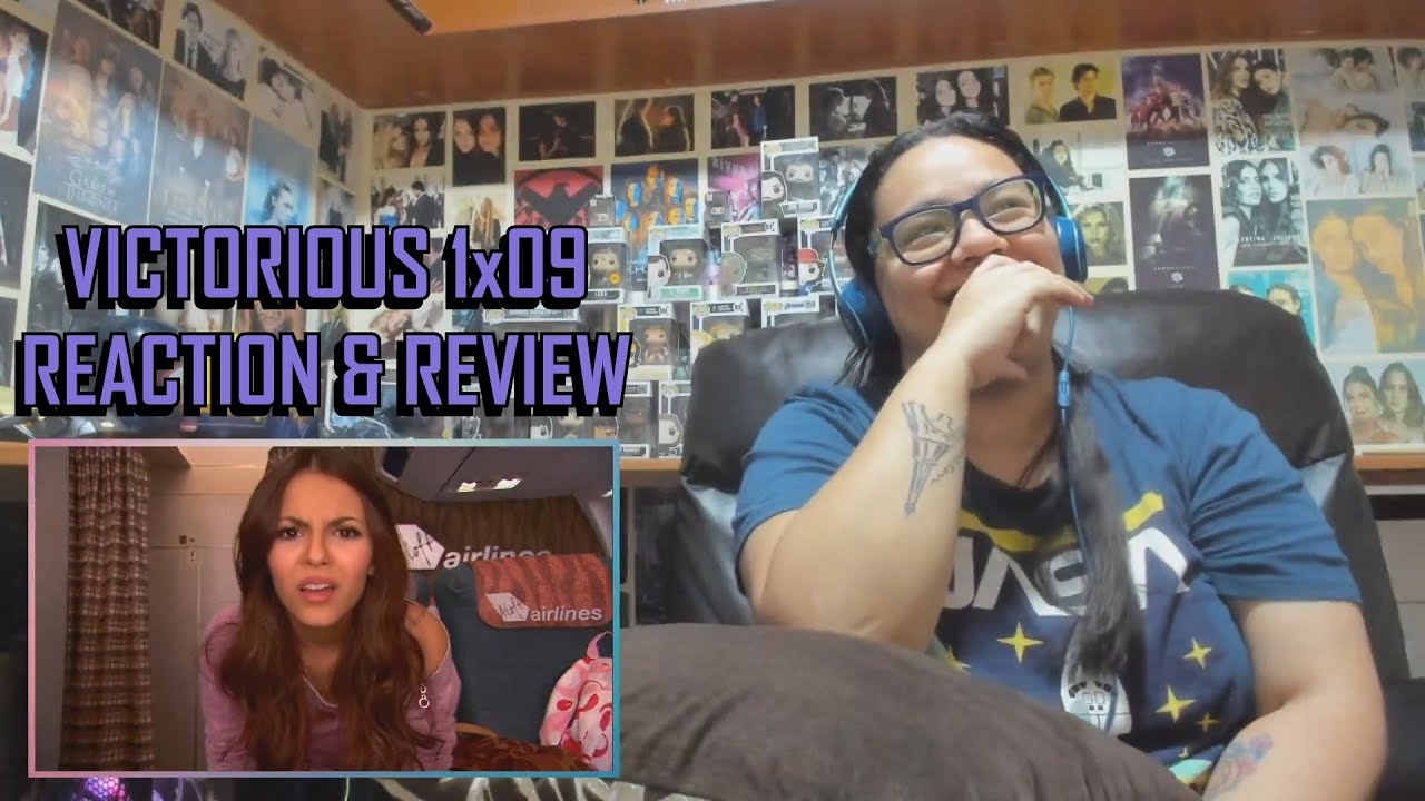 """Download Victorious 1x09 REACTION & REVIEW """"WI-FI in the Sky"""" S01E09   JuliDG"""