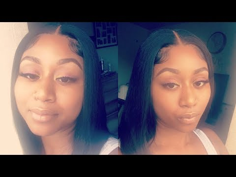 Melted Laced Closure Quick Weave  Mink Cambodian Silky Straight  TheKMBeautycom ❤️
