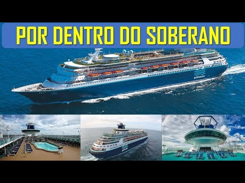 Por dentro do Navio Soberano - Pullmantur Sovereign