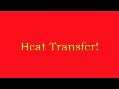 Heat Transfer- Conduction, Convection, Radiation