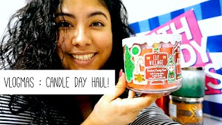 Vlogmas Day 3   It was Candle Day Sale