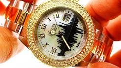 Invicta NEW YORK Edition Diamond Gold Wrist Watch