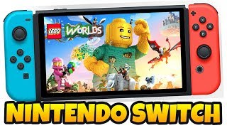 LEGO WORLDS NO NINTENDO SWITCH !!!! | LEGO Worlds PT BR #121