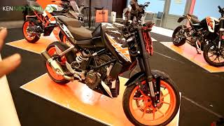 2018 KTM Duke 200 Black Edition Secara Visual