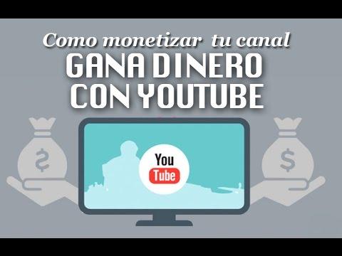 Monetizar canal de youtube y vincular con Cuenta de Adsense